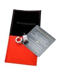 Pasquale Bruni   Multicolor 18k Marquise Diamond Hinged Hoop Earrings   Lyst