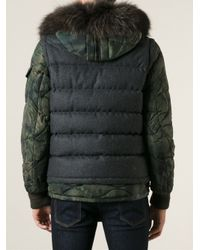 Moncler - Gray Dejan Padded Jacket for Men - Lyst