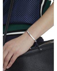 Monica Vinader | Metallic Fiji Wisdom Sterling Silver Bracelet | Lyst