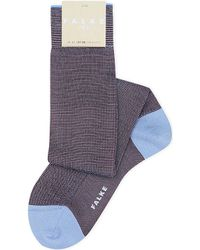 Falke | Blue No 2 Knee-high Silk Socks | Lyst