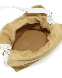 Loewe - Metallic Flamenco Bicolor Knot Bucket Bag for Men - Lyst