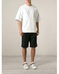 Juun.J - White Oversize T-Shirt for Men - Lyst