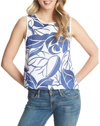 1.STATE | Blue Printed Tank | Lyst