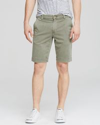 Hudson Jeans - Green Chino Shorts for Men - Lyst