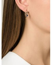 Puro Iosselliani Gray Sapphire Ring Earrings