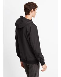 VINCE | Black Highline Nylon Scuba Jacket for Men | Lyst