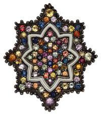 M.c.l - Multicolor Multicolour Sapphire Star Ring - Lyst