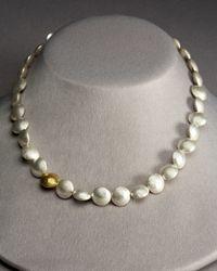 Gurhan - White Lentil Necklace - Lyst