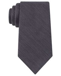 Michael Kors | Gray Michael Heath Solid Tie for Men | Lyst