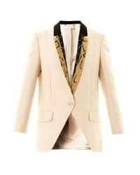 Stella McCartney - Natural Rhae Contrastlapel Jacket - Lyst