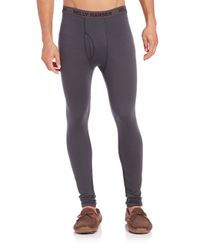 Helly Hansen - Gray Merino Wool Pants for Men - Lyst