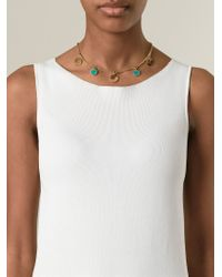 Marc By Marc Jacobs | Blue Multi-charm Necklace | Lyst