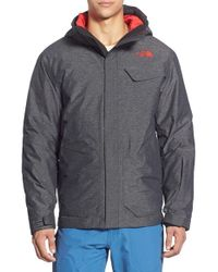 The North Face | Black 'marsellus' Triclimate Waterproof 3-in-1 Jacket for Men | Lyst