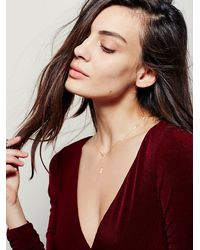 Free People - Metallic Amarilo Jewelry Womens Sia Choker Necklace - Lyst
