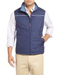 Vineyard Vines - Blue 'nor'easter' Vest for Men - Lyst
