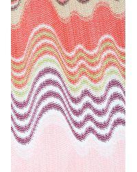 Missoni - Pink Knit Pochette - Lyst