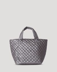MZ Wallace | Gray Tote - Small Metro | Lyst