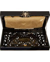 Charlotte Olympia | Black Geometric Perspex Pandora Box Clutch | Lyst