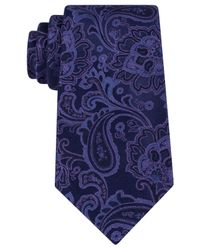 Michael Kors | Blue Michael Viceroy Paisley Tie for Men | Lyst