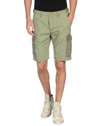 Scotch & Soda - Green Bermuda Shorts for Men - Lyst