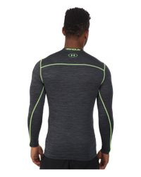Under Armour - Gray Ua Coldgear® Armour® Twist Compression Crew for Men - Lyst