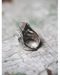 Free People - Metallic Tribe Jewelry Womens Crystal Talon Ring - Lyst