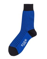 Thomas Pink | Blue Tenby Socks for Men | Lyst