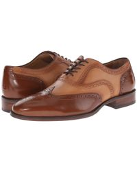 Johnston & Murphy | Brown Nolen Wingtip for Men | Lyst
