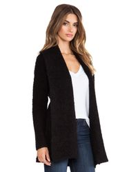 Joie | Black Solome Cardigan | Lyst