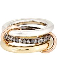 Spinelli Kilcollin | Metallic Libra Ring | Lyst