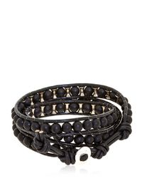 Colana | Black Lava Bracelet | Lyst