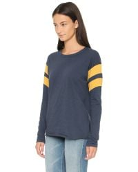 NSF - Blue Regina Long Sleeve Tee - Lyst