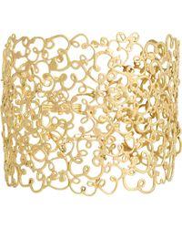 Judy Geib - Metallic Women's Gold Meanderer Bracelet - Lyst