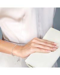 Biography Bracelets - Metallic Moonstone Skinny Biography Bracelet - Lyst