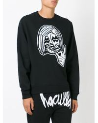Haculla - Black Face Sweatshirt for Men - Lyst