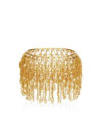 Wilfredo Rosado | Metallic 18k Yellow Gold Fringe Bracelet | Lyst