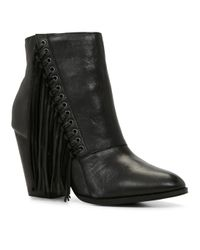 ALDO | Black Linsey Almond Toe Ankle Boot | Lyst
