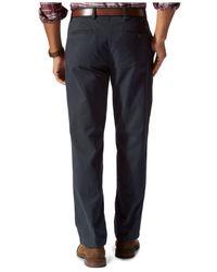 Dockers | Blue D3 Classic-fit Flat-front Field Khaki Pants for Men | Lyst