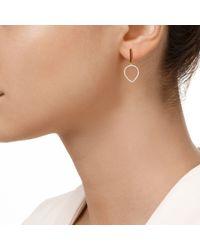 Monica Vinader | Metallic Diva Lotus Open Drop Earrings | Lyst
