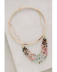 Anthropologie - Metallic Luminosities Necklace - Lyst