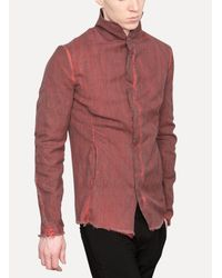 Lumen Et Umbra - Red Shirt Jacket for Men - Lyst