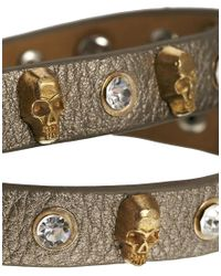 Ashiana - Brown Stud Bracelet - Lyst