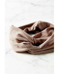 Urban Outfitters - Natural Crisscross Bella Headwrap - Lyst