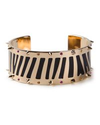 Maria Francesca Pepe | Metallic Jungle Spike Cuff | Lyst
