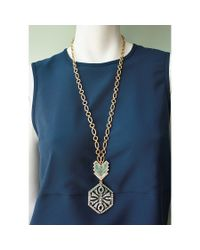 Lulu Frost | Metallic Ortigia Long Pendant Necklace | Lyst