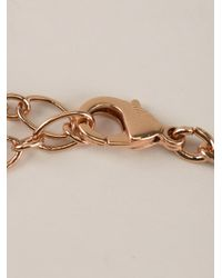 Ca&Lou - Pink Brune Serti Necklace - Lyst