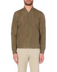 Orlebar Brown | Green Fairley Shell Bomber Jacket, Men's, Size: L, Dark Sahara for Men | Lyst