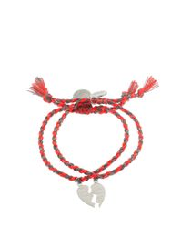 Venessa Arizaga - Orange Made For Each Other Bracelets - Lyst
