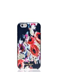 Kate Spade | Multicolor Hazy Floral Iphone 6 Case | Lyst