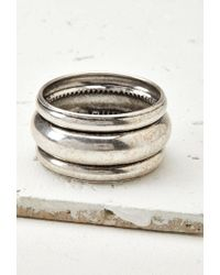 Forever 21 | Metallic Tiered Bangle | Lyst